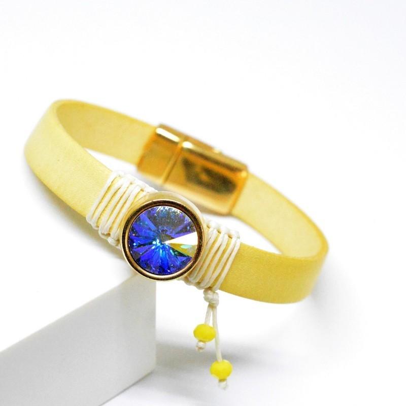 Βραχιόλι  Gold /Swaronski Crystal AB  V1634