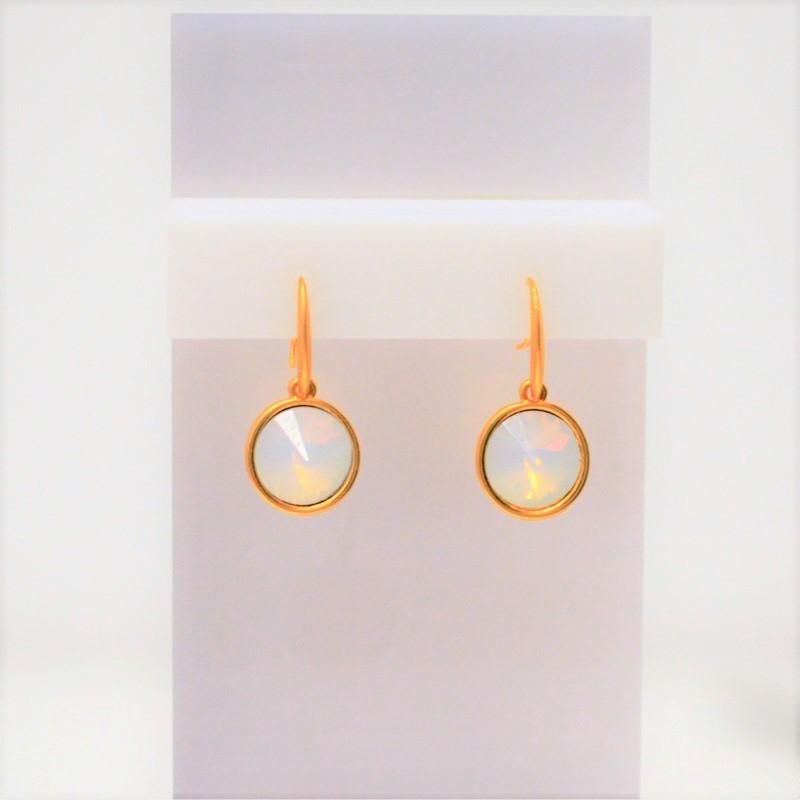 Σκουλαρίκια Gold/Swarovski Crystal pastel S3360
